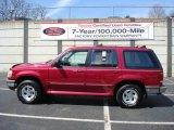 1995 Ford Explorer Vermillion Red