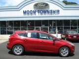 2012 Red Candy Metallic Ford Focus SEL 5-Door #67744949