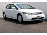 2007 Taffeta White Honda Civic Hybrid Sedan #67744922