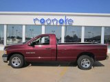 2003 Dark Garnet Red Pearl Dodge Ram 1500 ST Regular Cab #67744889