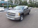 2012 Graystone Metallic Chevrolet Silverado 1500 LS Crew Cab #67745471