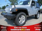2012 Bright Silver Metallic Jeep Wrangler Sport 4x4 #67744821