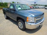 2013 Blue Granite Metallic Chevrolet Silverado 1500 Work Truck Regular Cab #67745439
