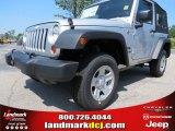 2012 Bright Silver Metallic Jeep Wrangler Sport 4x4 #67744819