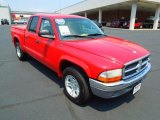 2004 Flame Red Dodge Dakota SLT Quad Cab #67745399