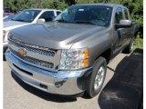 2012 Graystone Metallic Chevrolet Silverado 1500 LT Extended Cab 4x4 #67845659