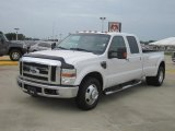 2010 Oxford White Ford F350 Super Duty Lariat Crew Cab Dually #67845359