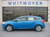 2012 Blue Candy Metallic Ford Focus SE Sport 5-Door #67845623