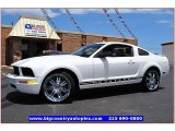 2007 Performance White Ford Mustang V6 Premium Coupe #67845908