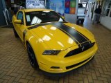 2013 School Bus Yellow Ford Mustang Boss 302 #67845340