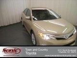 2012 Sandy Beach Metallic Toyota Camry XLE #67845598