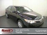 2012 Attitude Black Metallic Toyota Camry L #67845596