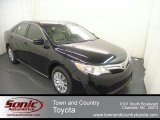 2012 Attitude Black Metallic Toyota Camry LE #67845592