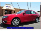 2011 Red Candy Metallic Ford Fusion SEL V6 #67845905