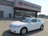 2008 Super White Toyota Camry XLE #67845326