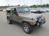 2005 Jeep Wrangler Light Khaki Metallic