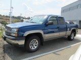 2003 Arrival Blue Metallic Chevrolet Silverado 1500 LS Extended Cab 4x4 #67845323