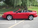 1994 Laser Red Tinted Metallic Ford Mustang GT Convertible #67845300