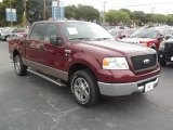 2006 Dark Toreador Red Metallic Ford F150 XLT SuperCrew #67845271