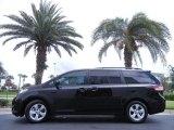 2012 Black Toyota Sienna LE #67845243