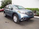 2012 Opal Sage Metallic Honda CR-V EX-L #67845218