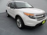 2013 White Platinum Tri-Coat Ford Explorer XLT #67845492