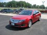 2010 Sangria Red Metallic Ford Fusion SEL V6 AWD #67845813