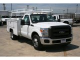 2012 Ford F350 Super Duty XL Regular Cab Utility Truck Data, Info and Specs