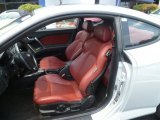 2008 Hyundai Tiburon GT Limited GT Limited Red Leather Interior