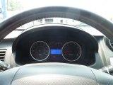 2008 Hyundai Tiburon GT Limited Gauges
