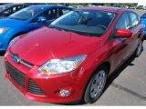 2012 Red Candy Metallic Ford Focus SE 5-Door #67845670
