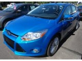 2012 Blue Candy Metallic Ford Focus SEL 5-Door #67845669