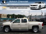 2013 White Diamond Tricoat Chevrolet Silverado 1500 LT Crew Cab 4x4 #67901557