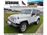 2011 Bright White Jeep Wrangler Sahara 4x4 #67900935