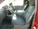 2013 Chevrolet Silverado 1500 LT Regular Cab 4x4 Ebony Interior