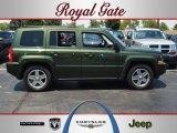 2007 Jeep Green Metallic Jeep Patriot Sport 4x4 #67901473
