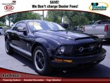 2006 Black Ford Mustang V6 Deluxe Coupe #67901457