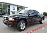 2004 Black Dodge Dakota Sport Club Cab #67901150