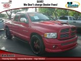 2004 Flame Red Dodge Ram 1500 SLT Sport Quad Cab #67901454