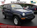 2002 Patriot Blue Pearlcoat Jeep Liberty Sport #67901446