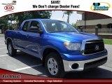 2010 Blue Streak Metallic Toyota Tundra Double Cab #67901445