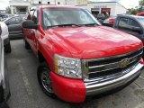 2008 Victory Red Chevrolet Silverado 1500 LT Crew Cab #67901062