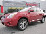 2012 Cayenne Red Nissan Rogue SV #67901058