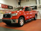 2011 Radiant Red Toyota Tundra SR5 Double Cab 4x4 #67901383