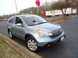 2008 Glacier Blue Metallic Honda CR-V EX-L 4WD #67901335