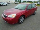 2007 Sport Red Metallic Chevrolet Malibu LS Sedan #67901321