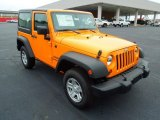 2012 Dozer Yellow Jeep Wrangler Sport 4x4 #67901298