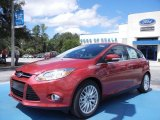 2012 Red Candy Metallic Ford Focus SEL 5-Door #67961605