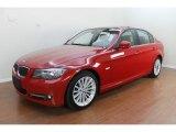 2009 Crimson Red BMW 3 Series 335i Sedan #67961597