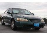 2002 Noble Green Pearl Honda Accord EX V6 Sedan #67962148